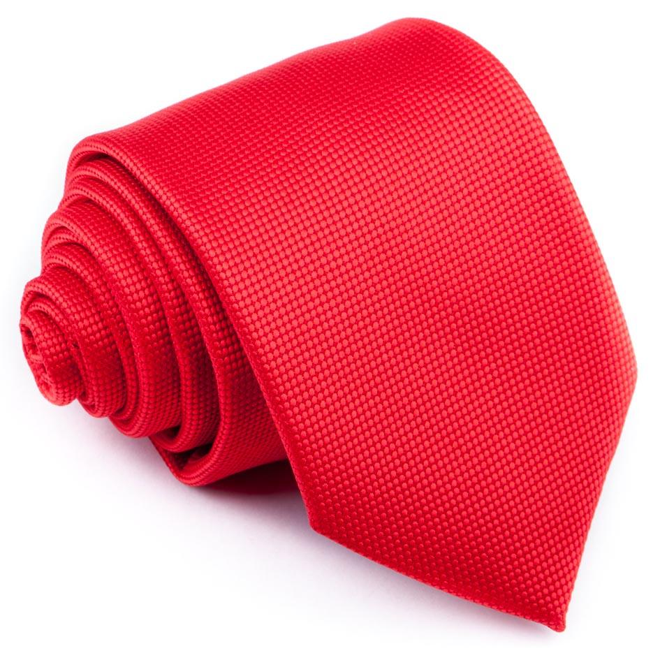 Červená kravata se vzorkem Greg 93197