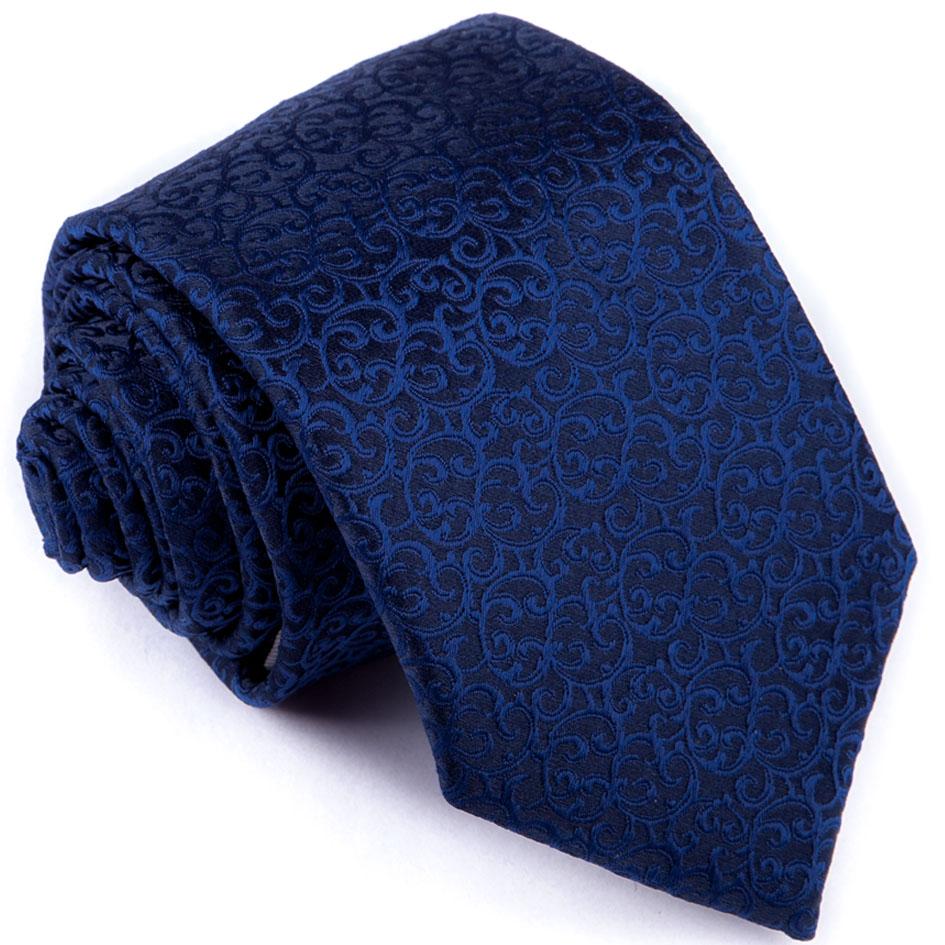 Kravata tmavě modrá ornamentální Greg 94270