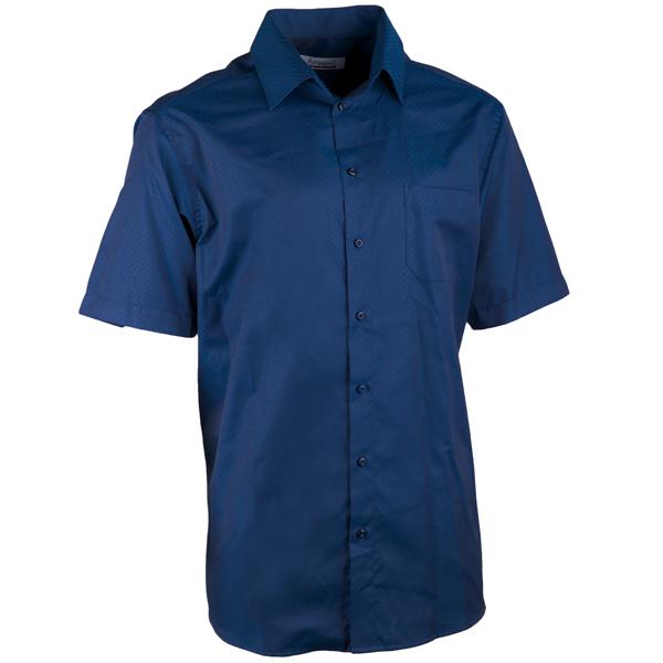 Elegantní modrá košile rovná regular fit Aramgad 40440