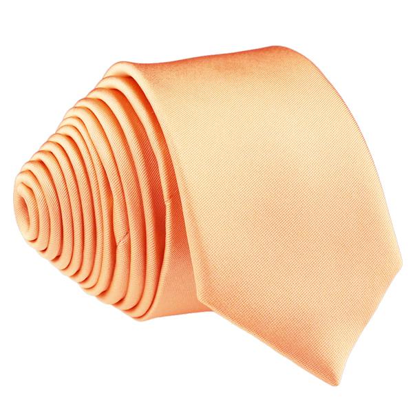 Meruňková kravata slim fit Romendik 99176