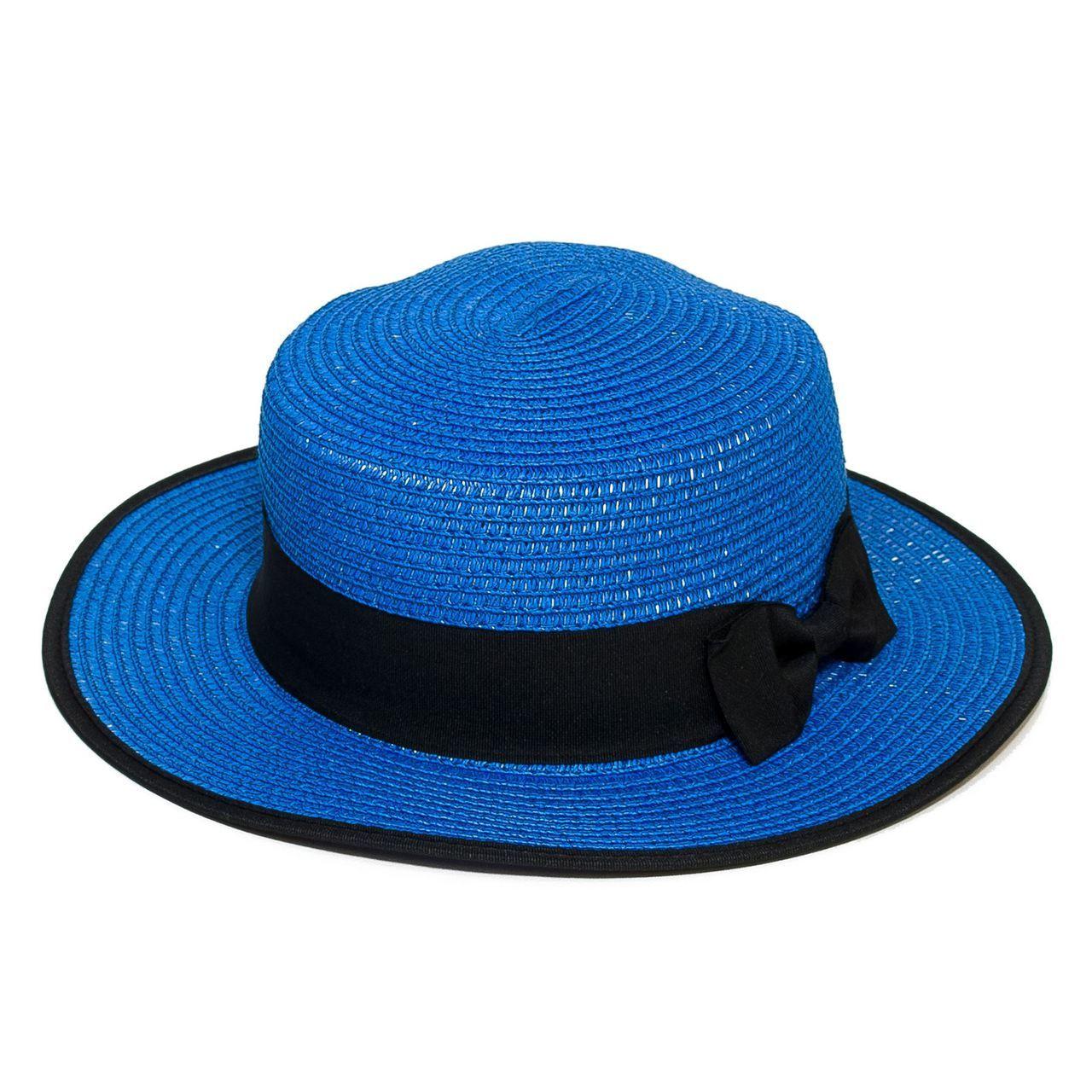 Letní klobouk barva modrá Assante 161219
