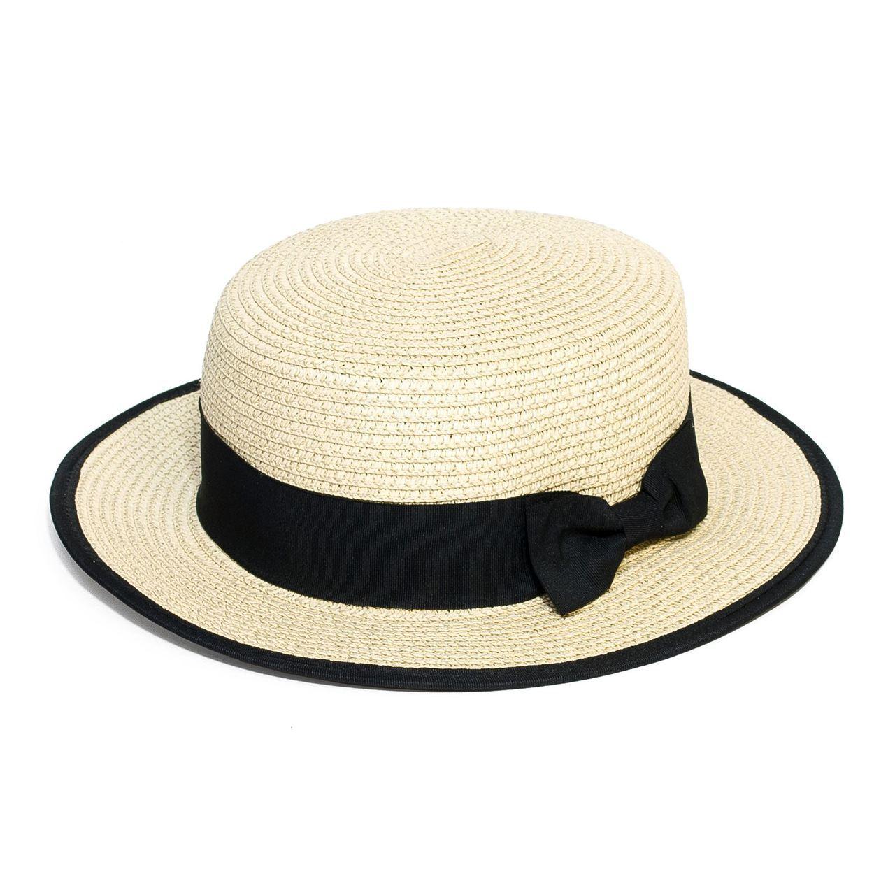 Letní klobouk barva smetanová Assante 161221