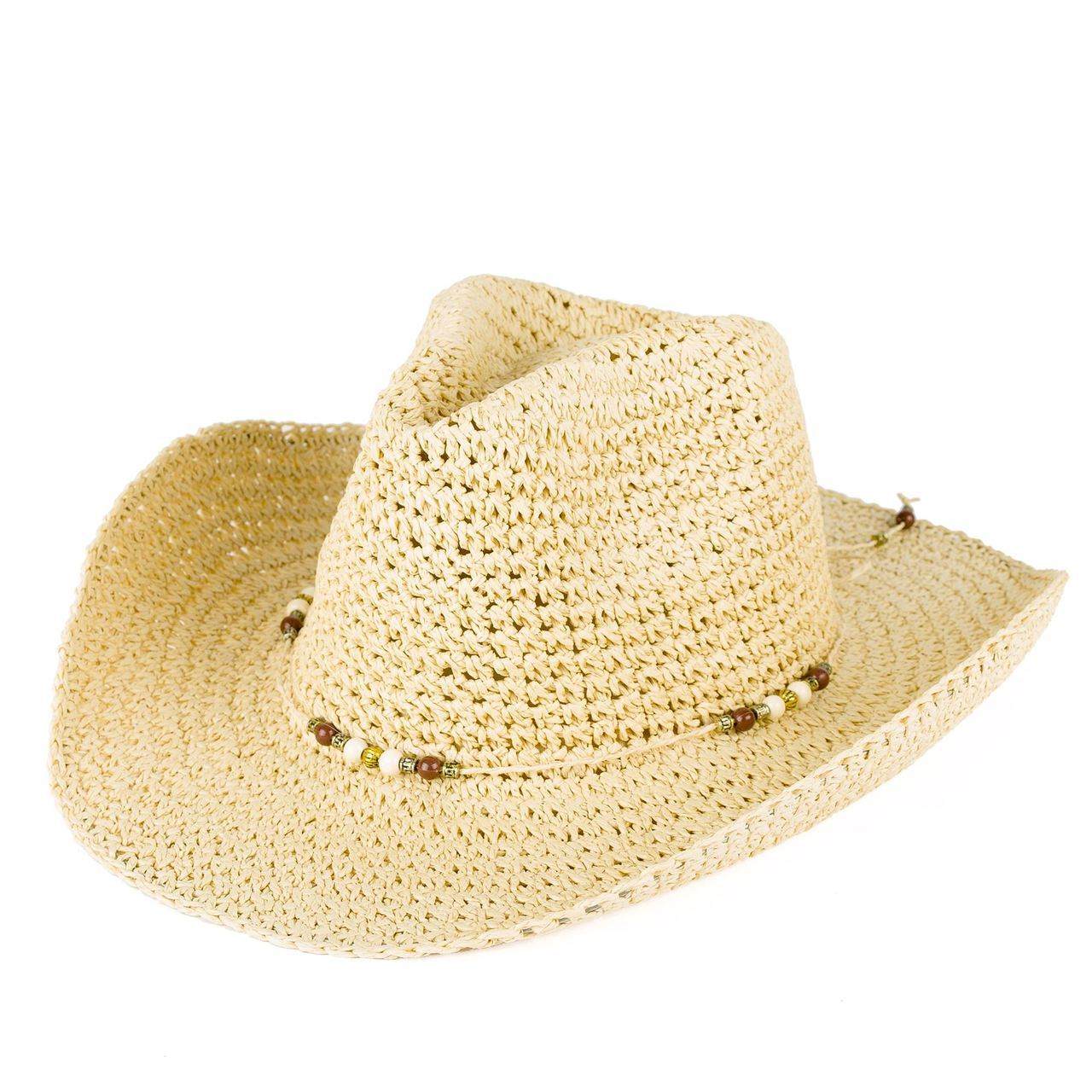 Letní klobouk barva béžová Assante 161232