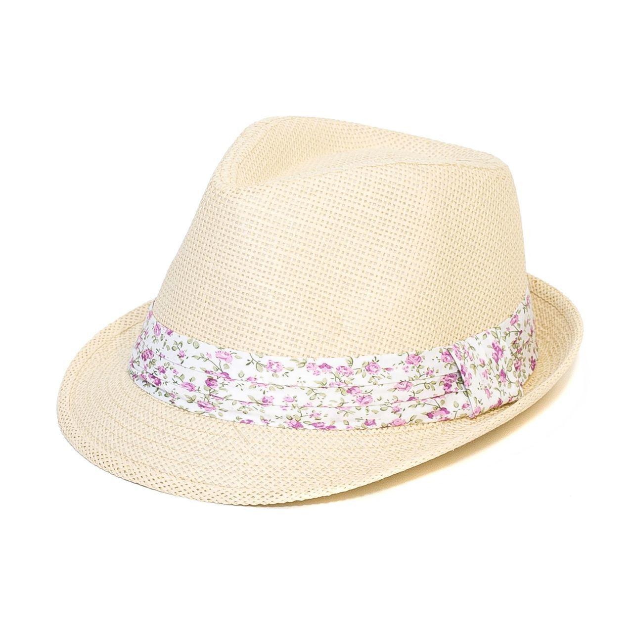 Letní klobouk barva béžová Assante 161240