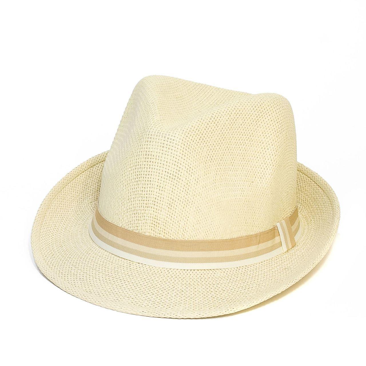 Letní klobouk barva béžová Assante 161241