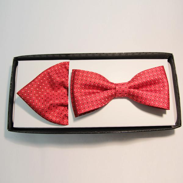 Červený pánský motýlek Assante 90265
