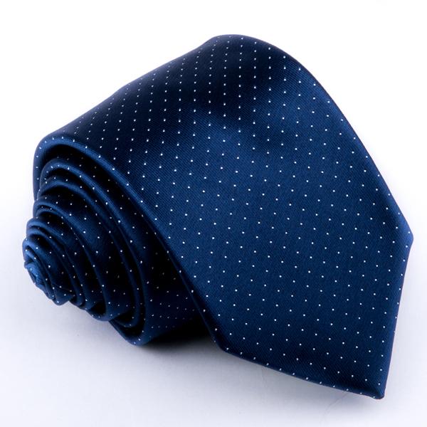 Modrá tečkovaná kravata Greg 94294
