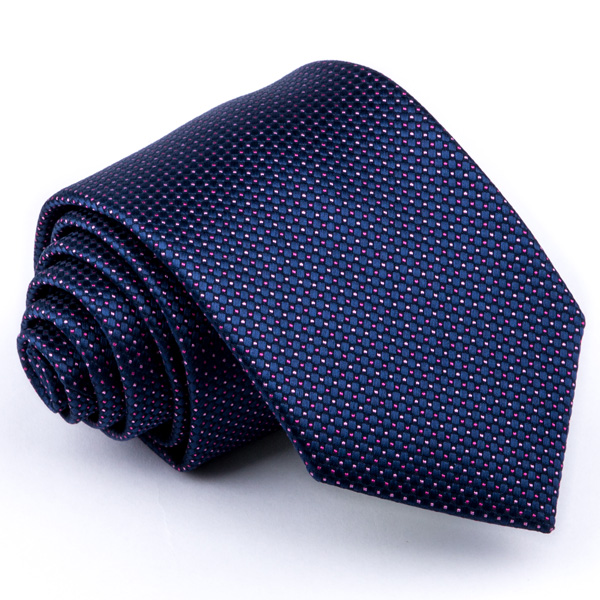 Modrofialová kravata Greg 94295