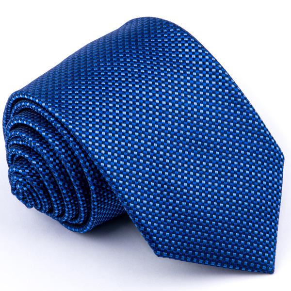 Modrá vzorovaná kravata Greg 94297