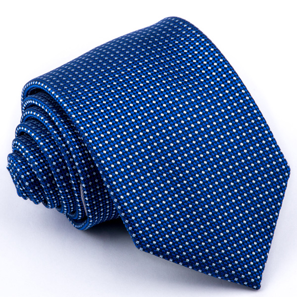 Modrá kravata vzorek Greg 94303