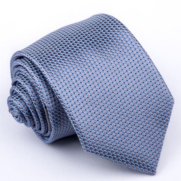 Šedomodrá kravata Greg 94306