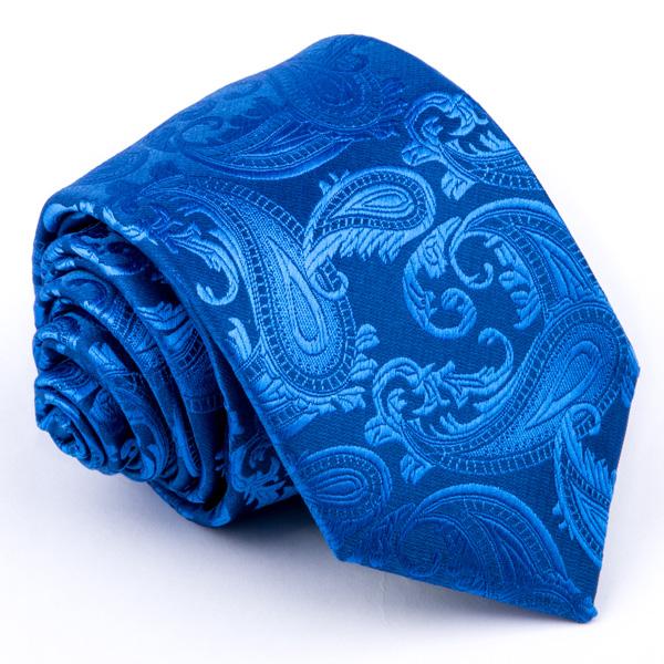 Modrá elegantní kravata Greg 94309 velikost Uni