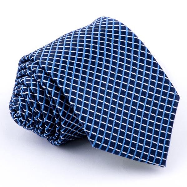 Modrá kravata Greg 94316