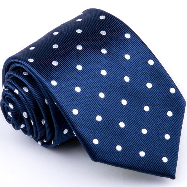Modrá puntíkovaná kravata Greg 94321