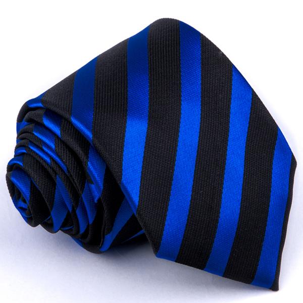 Modročerná kravata Greg 94333