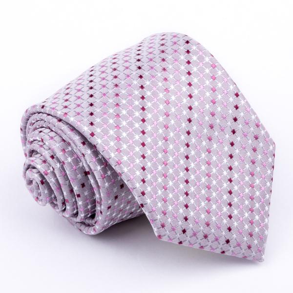 Šedá kravata Greg 91210