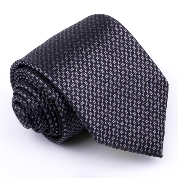 Šedá kravata Greg 91212