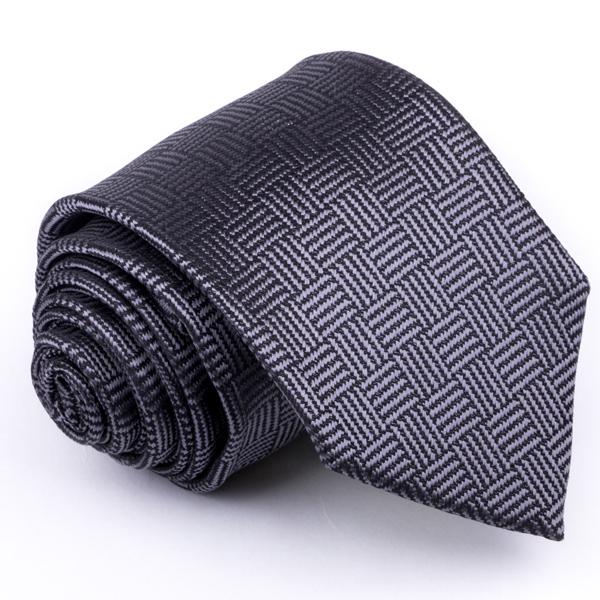 Šedá kravata Greg 91216