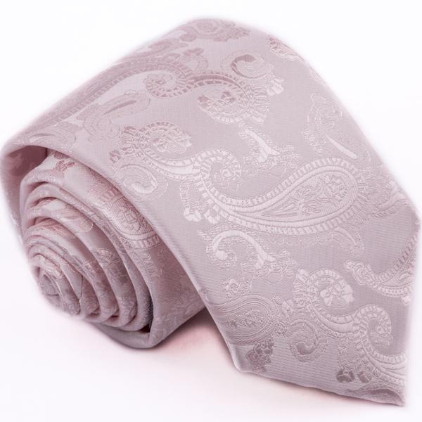 Růžová kravata Greg 96152
