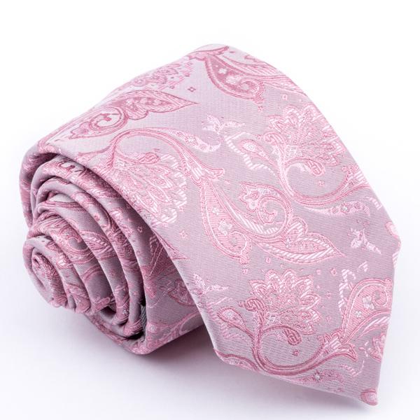 Růžová kravata Greg 96153
