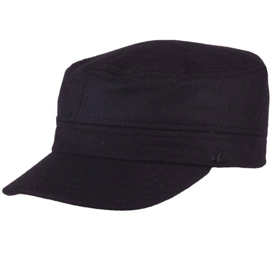 Pánská zimní luxusní fidelka černá s naušníky Assante 85312