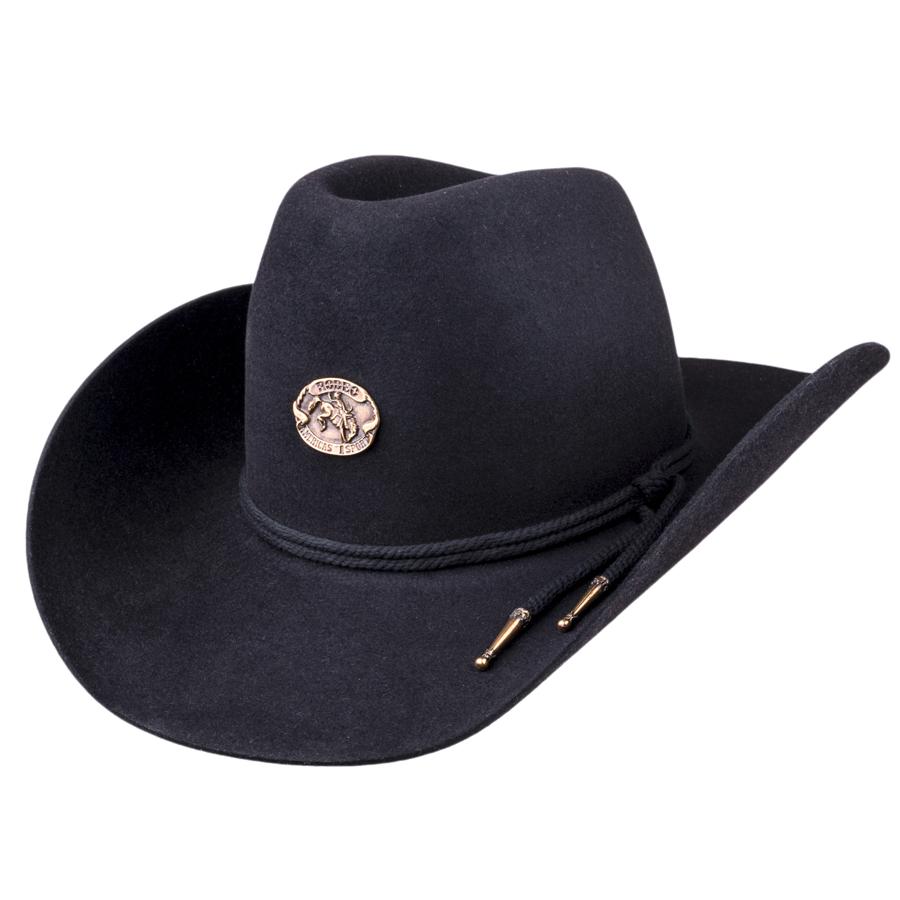 Černý kovbojský klobouk Tonak 85034