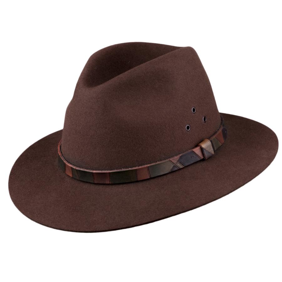 Hnědý pánský klobouk Tonak 85038