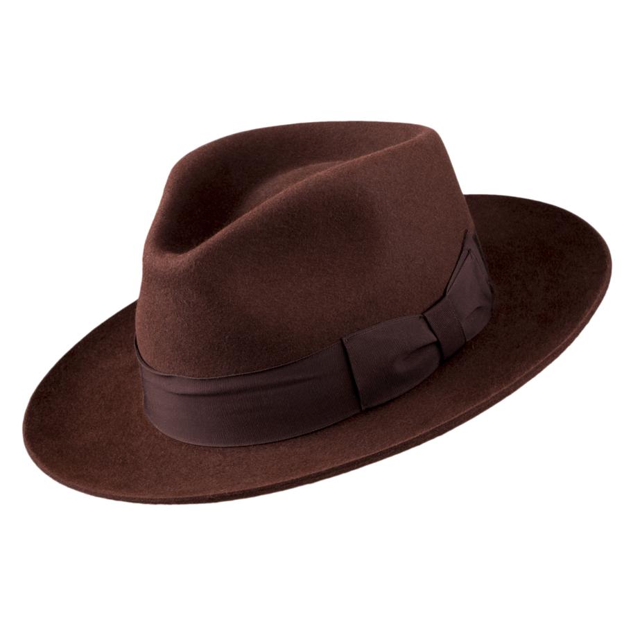 Hnědý pánský klobouk Tonak 85039