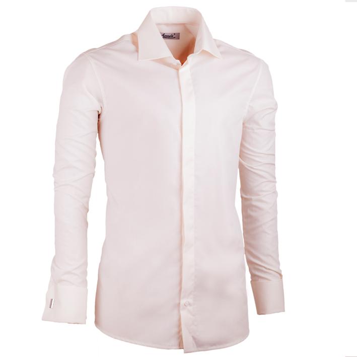 Šampaň pánská košile Assante vypasovaná 30209 velikost 37/38 (S)