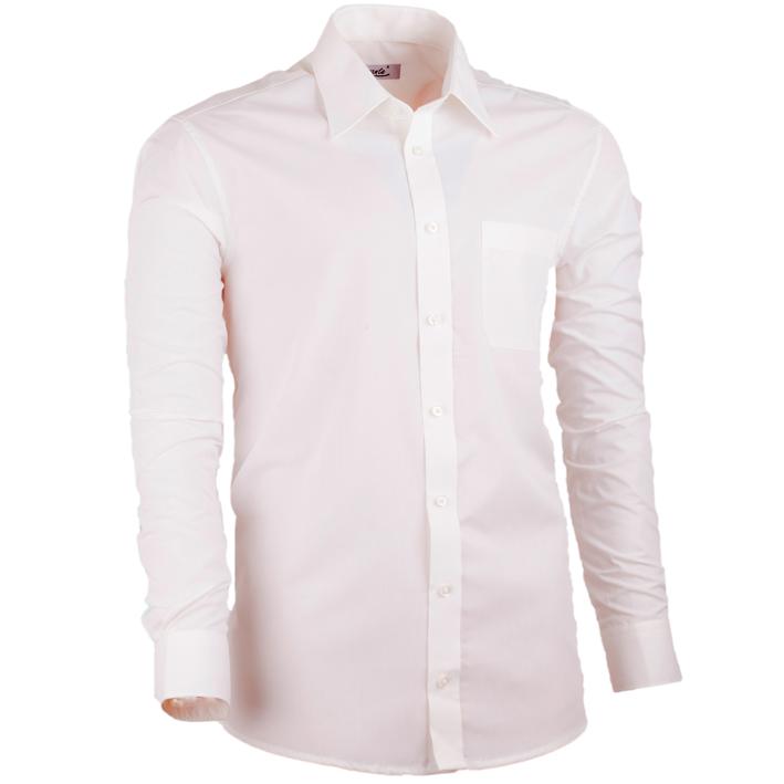 Šampaň pánská košile s dlouhým rukávem rovná Assante 30211