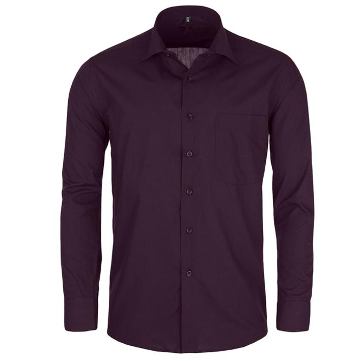 Pánská košile fialová Friends and Rebels 30304 velikost 41/42 (L)