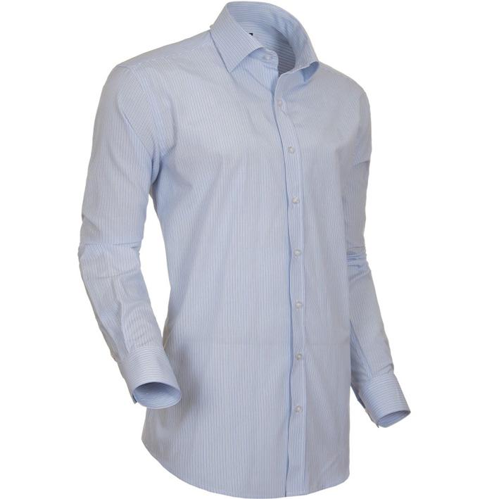 Bílá pánská košile s dlouhým rukávem rovná Native 30806