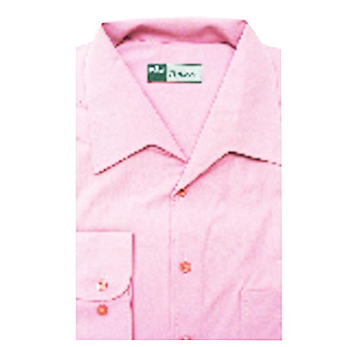 Růžová pánská košile s dlouhým rukávem rovná Assante 30905